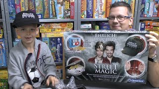 Ehrlich Brothers - Street Magic (Clementoni) - wie viel Spielspaß bietet die Box?