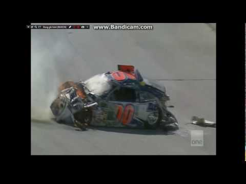 Top 10 NASCAR Nextel / Sprint Cup Series Crashes In The Car Of Tomorrow Generation (2007 - 2012)