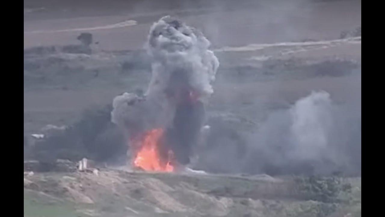 Հայկական զինուժը շարունակում է ոչնչացնել ադրբեջանական տանկերն ու զրահատեխնիկան. նոր տեսանյութ