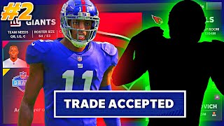 I TRADED AWAY THE FASTEST PLAYER IN THE NFL WITH A HUGE BIDDING WAR!! #2