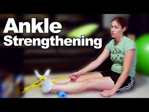 Ankle Dorsiflexion with Band