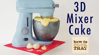 STAND MIXER CAKE How To Cook That Ann Reardon 3d Cake