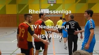 preview picture of video 'TV Nieder-Olm II vs. HSV Alzey'