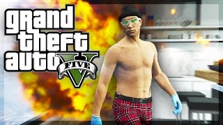 GTA 5 Online - The RETURN of The Super Scrub Villains... ish (GTA 5 Funny Moments)