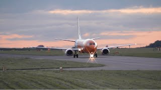 Summer Evening Plane Spotting at East Midlands Airport, EMA