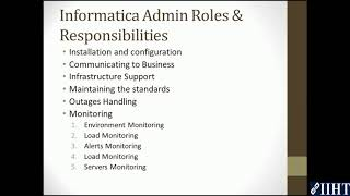informatica admin interview questions and answers for