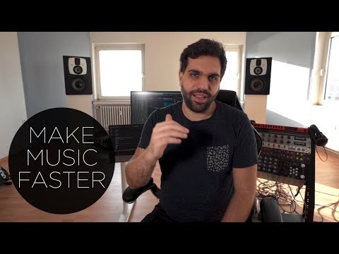 HOW TO PRODUCE MUSIC FASTER