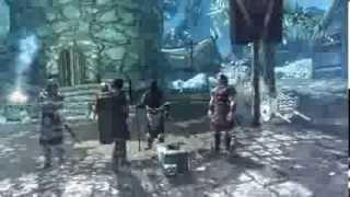 Skyrim Legolas #1 Escaping Helgen