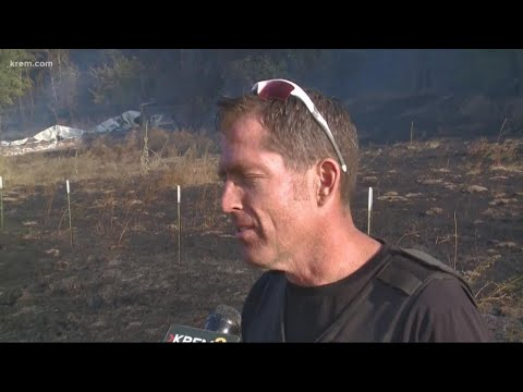 Town of Malden, Wash. decimated by wildfire in Whitman County; most buildings burned