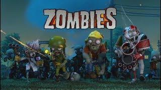 Демонстрация возможностей Зомби из PvZ Garden Warfare