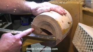 My Woodturning Tool On Extreme Interrupted Cuts
