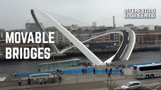Innovative bridges that actually move