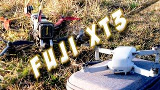 Fuji XT3 - Drone | B-Roll | DJI Mini & FPV Racing Drone