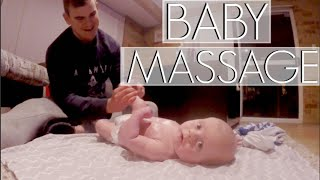 LEARNING BABY MASSAGING