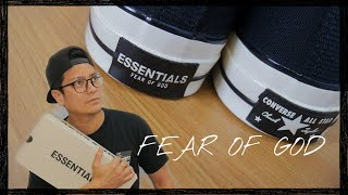 Fear Of God Essentials X Converse Chuck Taylor 70: UNBOXING AND COMPARISONS