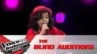 """Yana """"Alusi Au""""   The Blind Auditions   The Voice Kids Indonesia Season 2 GlobalTV 2017"""