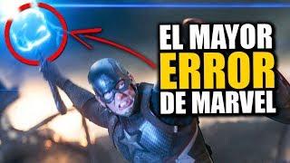 ¡IMPOSIBLE! El mayor error de Marvel es cuando el Capitán América levanta el Mjolnir