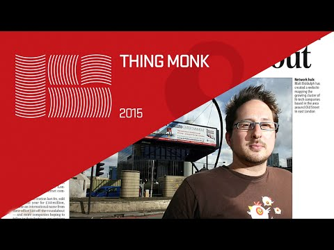 ThingMonk 2015: Matt Biddulph – Welcome to the Conversation