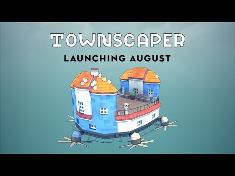 Townscaper is Launching in August! de Townscaper