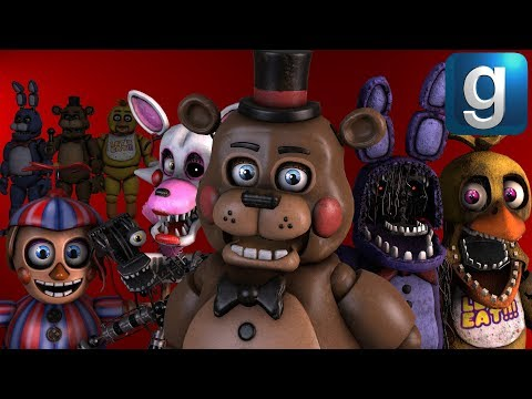 Gmod FNAF | Brand New FNAF 2 Help Wanted Pill Pack! [Early Access]