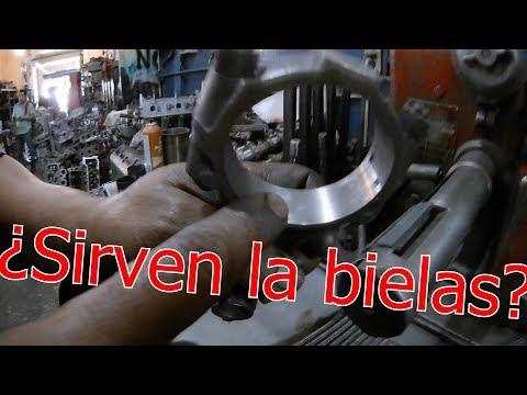 !bielas inservibles¡ tutorial de como utilizar la máquina de rectificado de bielas