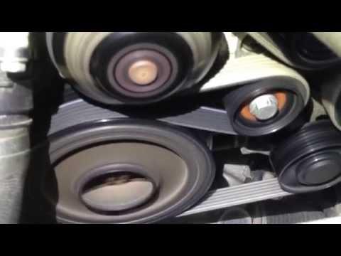 BMW N47 engine noise vibration 318d (320d) - смотреть онлайн