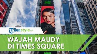 Wajah Maudy Ayunda Muncul di Times Square dalam Kampanye Kesetaraan Perempuan; Kesempatan Langka
