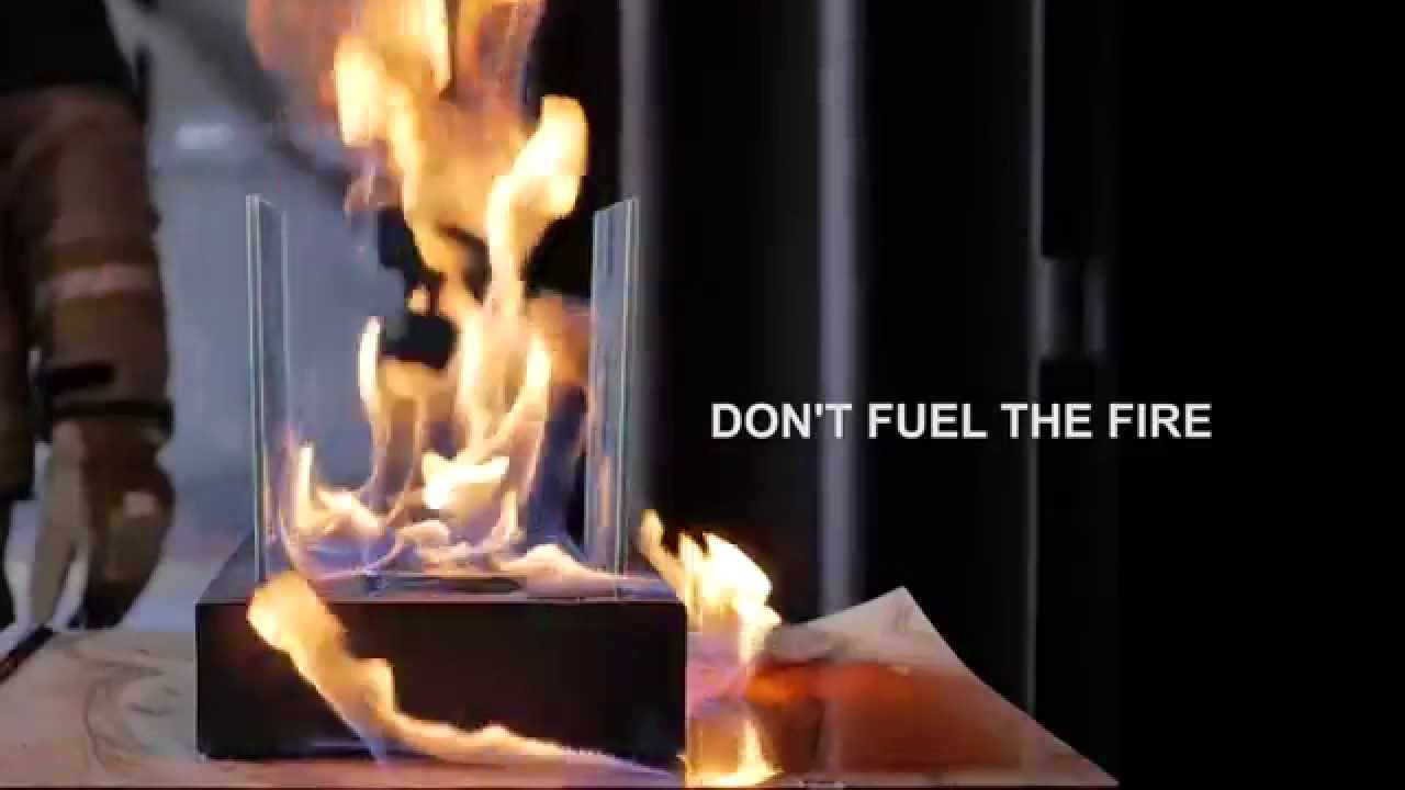 Don't Fuel the Fire - Ethanol Fireplace & Burner Hazards