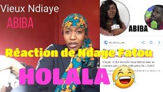 Vieux Ndiaye Olala Vs Abiba Réaction De Ndaye Fatou 😂