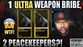 I Got 2 PEACEKEEPERS! 😈 BO4 Triple Play ULTRA WEAPON BRIBE Opening!