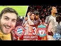 Bayern Munich Vs Liverpool Highlights 3-1!!