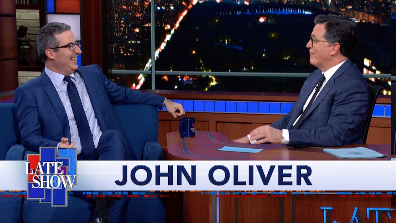 """John Oliver's First Crush Was Eeyore From """"Winnie-the-Pooh"""" thumbnail"""