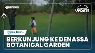 TRIBUN TRAVEL UPDATE: Camping di Denassa Botanical Garden Gowa, Pemiliknya Peraih Kalpataru