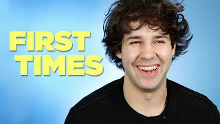 David Dobrik Tells Us About His First Times