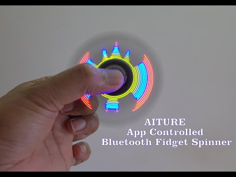 AITURE APP Controlled Bluetooth Fidget Spinner