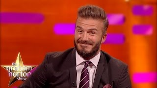 David Beckham Gets Booed - The Graham Norton Show