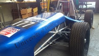 DRIVE Dundee Formula student team RBS ESSA 2014