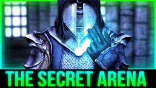Skyrim's Secret ARENA - Battle with The Ultimate Mage!