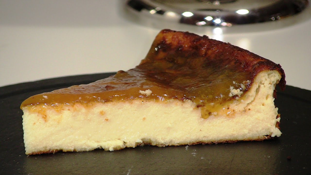 Tarta de queso muy cremosa   Javier Romero