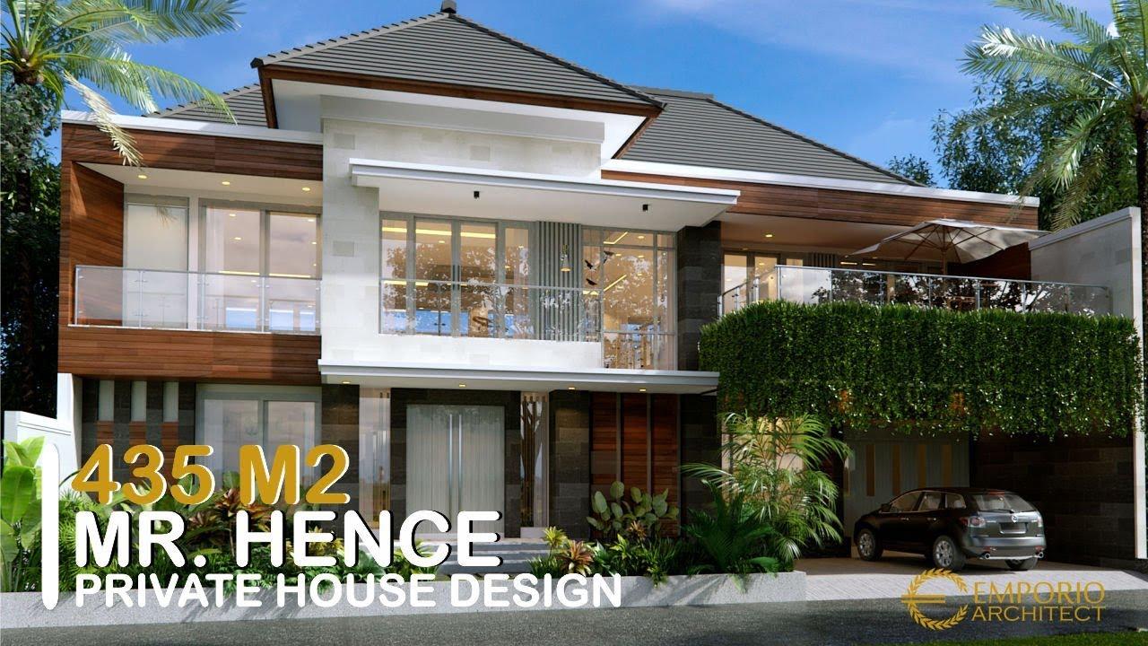 Video 3D Mr. Hence Modern House 2 Floors Design - Sukoharjo, Jawa Tengah