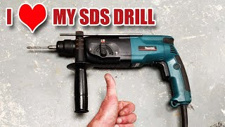 A look at the classic Makita HR2450 SDS drill