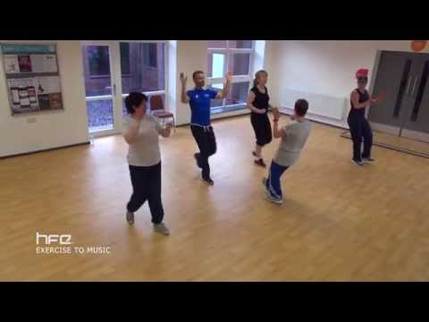Level 2 Exercise to Music Course | HFE - YouTube