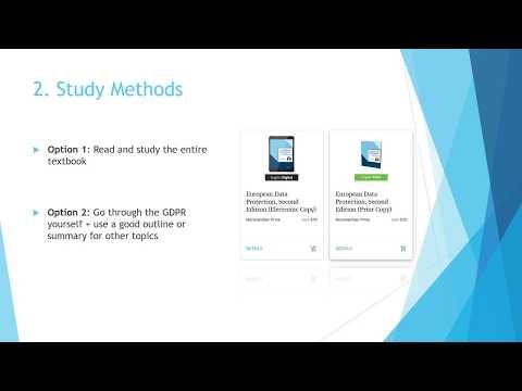 CIPP Exam Preparation - YouTube