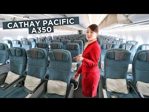 ECONOMY CLASS on CATHAY PACIFIC's A350 – A Review | Economy Week