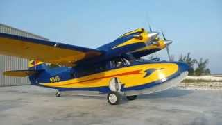 preview picture of video 'Grumman Super Goose at Pittstown Point Landing Crooked Island'
