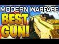 "MODERN WARFARE GOD GUN! BEST LMG IN MODERN WARFARE BEST CLASS SETUP ""BEST PKM CLASS SETUP"" COD MW!"