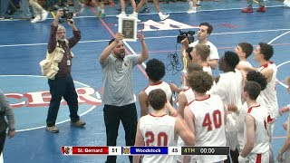 Full game: St. Bernard 51, Woodstock 45 in ECC Div. 2 final