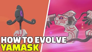 Runerigus  - (Pokémon) - Pokemon Sword & Shield   How To Evolve Galarian Yamask into Runerigus