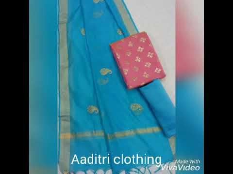 Aaditri White Cotton Suit Material