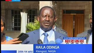Kinara wa NASA Raila Odinga ashutumu hatua ya wabunge wa Jubilee